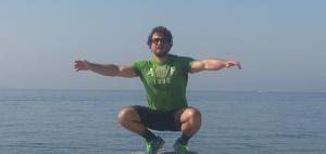 "Fin de la ""hoja de ruta"", relajándome en el mar"